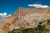 Dhankar village in India — Stock Photo