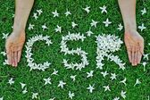 Csr - corporate social responsibility — Stock Photo