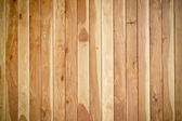 Teak wood plank texture with natural patterns - teak plank - teak wall — Foto de Stock
