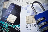 Credit card security — ストック写真