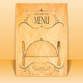 Restaurace menu — Stock vektor