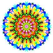 Circle colorfull mandala pattern. — Stock Photo