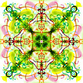 Colorfull mandala pattern. — Foto Stock