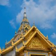 Stock Photo: Temple Roof