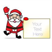 圣诞老人圣诞 chrimas 剪贴画 — 图库照片