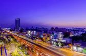 Bangkok soumrak — Stock fotografie