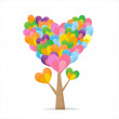 Stock Vector: Tree of Heart