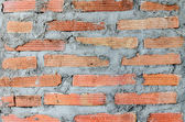 Background of red brown brickwall texture — Stock Photo