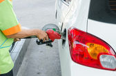 Gas Pumping — Stock Photo