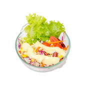 Isolated Salad — Stockfoto