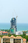 Building construction near sea  — Stock Photo