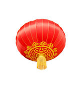 Isolated chinese lantern — Stock Photo