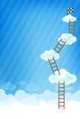 Wolke und blau Hintergrund neue 002 — Stockvektor