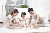 Family having fun — Стоковое фото