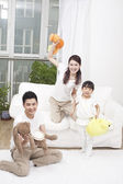 Family having fun together — Stock Photo