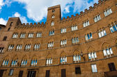 Piazza del Campo at Siena — Stock Photo