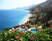 Landscape. Sicily. Eastern coast — Stock Photo