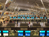 Cape town. South Africa - May 04, 2014. Modern airport interior. — Stock Photo