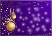 Christmas or new year background — Stock Vector