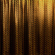 Curtain with folds — Stock Photo