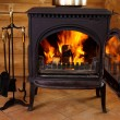 Fireplace — Stock Photo