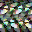 Stock Photo: Compact disc background