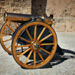 Stock Photo: Old field cannon