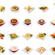 Stock Photo: Menu dish selection