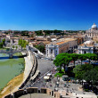 Rome with Vatican city — Stock Photo