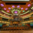 Atrium interior on the cruise ship — Foto Stock
