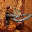 Old rusty keyhole — Stock Photo