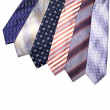 Multiple ties — Stock Photo