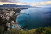 Panoramic view on Sorrento — Stock fotografie