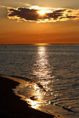 Sunset on a Baltic sea — Stock Photo