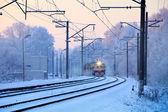 Suburban train — Stock Photo