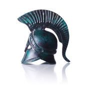 Greek helmet — Stock Photo