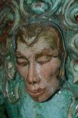 Cara de la escultura de fantasía — Foto de Stock