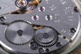 Vecchio orologio meccanico — Foto Stock