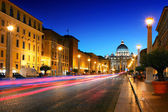 Vatican City in the evening — Stock Photo