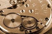 古いメカニック時計 — ストック写真