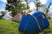 Tendas de turista — Foto Stock