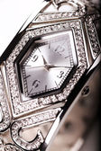 Luxurious female wristwatch — Stock Photo