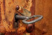 Old rusty keyhole — Stock Photo