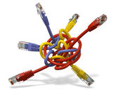 Network cable — Stock Photo