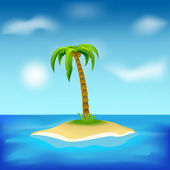 Island — Stock Vector