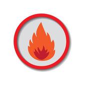 Incendio — Vector de stock