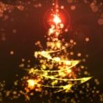 Cristmas fir tree — Stock Photo