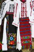 Two traditional costumes for women — Stock Photo