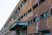 Verlassenen industrieanlage — Stockfoto