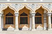 A row of  beautiful ionic  columns — Stockfoto